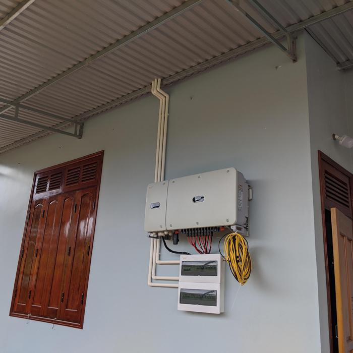 Hoàn thành lắp đặt hệ thống điện mặt trời áp mái quy mô lớn 45kWp tại Đắk Nông 16
