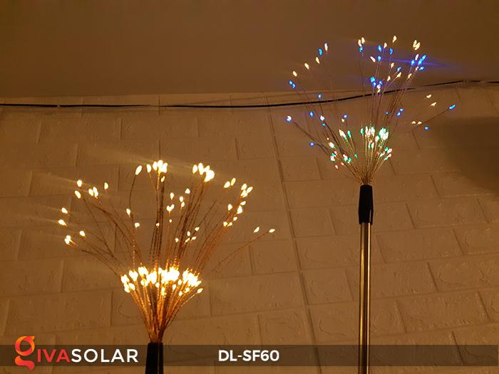 Đèn pháo hoa cắm đất chạy bằng năng lượng mặt trời DL-SF60