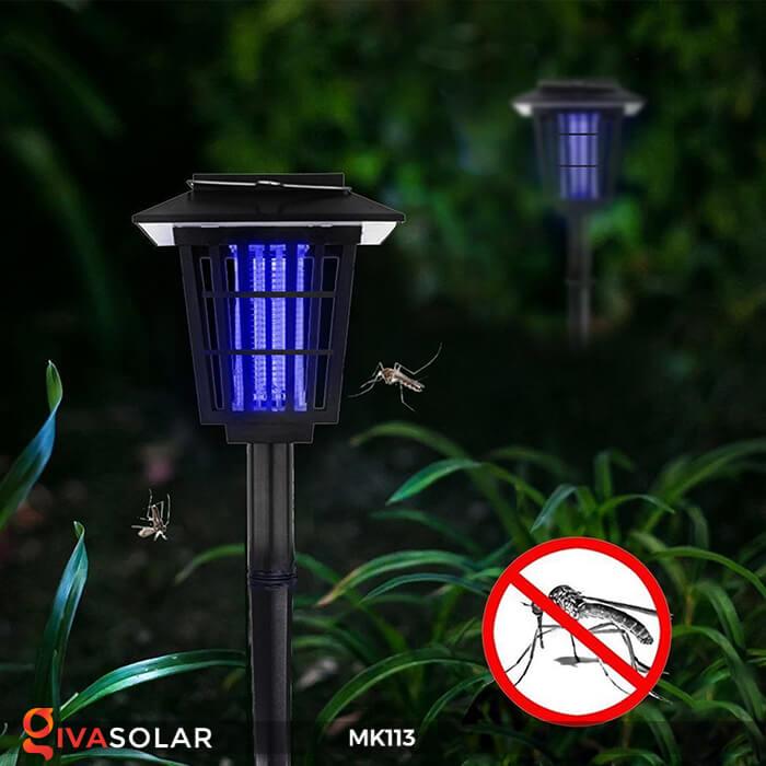 Đèn bắt muỗi năng lượng mặt trời cắm đất MK113