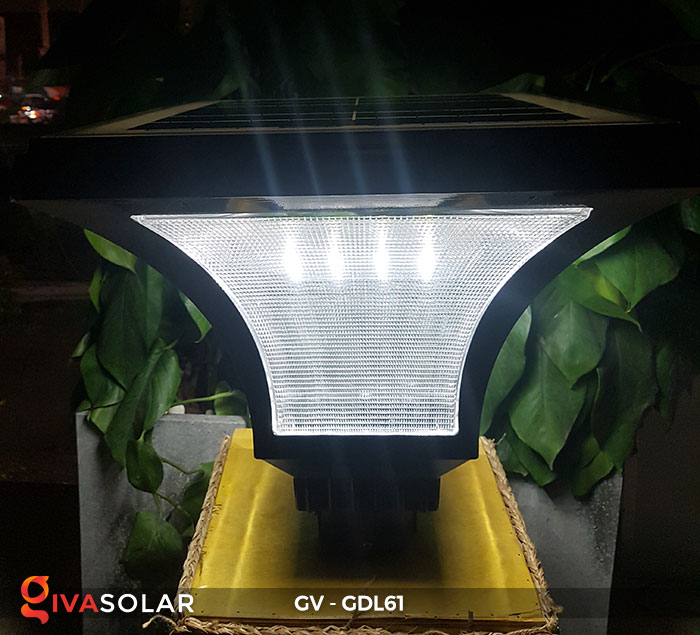 Đèn trụ sân vườn năng lượng mặt trời GDL61