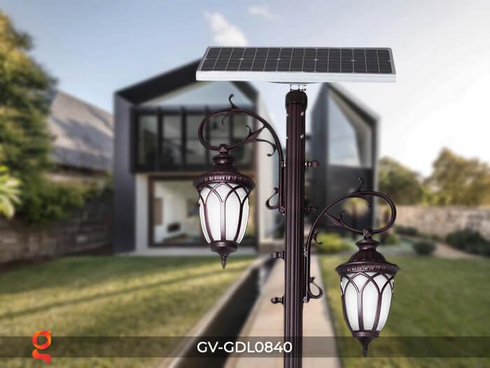 Mẫu đèn treo cột năng lượng mặt trời GDL0840