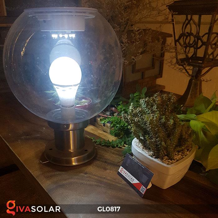 Đèn trang trí năng lượng mặt trời trụ cổng GL0817