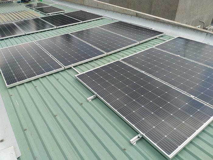 Lắp điện mặt trời áp mái 5kW tại tỉnh Bình Dương 3