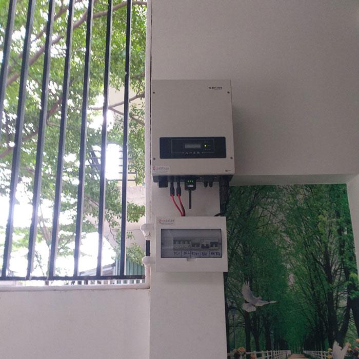 Lắp điện mặt trời áp mái 5kW tại tỉnh Bình Dương 4
