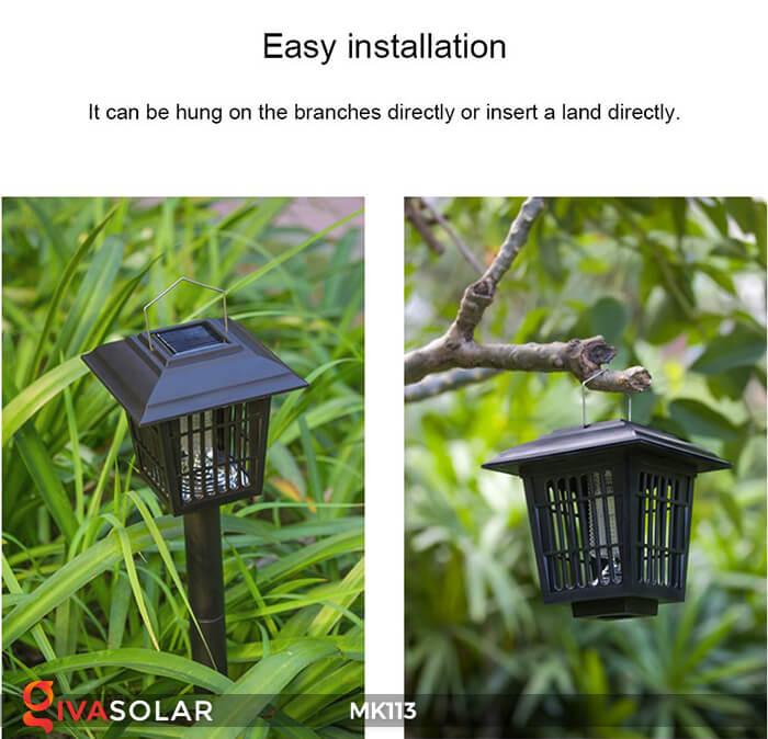Tất tần tật mọi thứ về đèn bắt muỗi năng lượng mặt trời 1