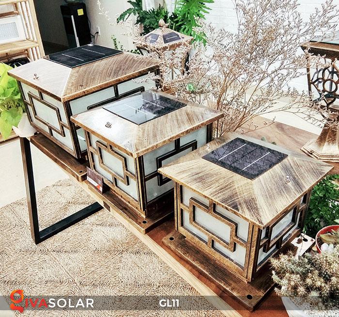 Lựa mua đèn LED năng lượng mặt trời trang trí không gian ngoài trời 6