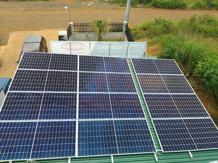 Hoàn thành lắp đặt điện năng lượng mặt trời 60kWp tại Đắk Nông 14