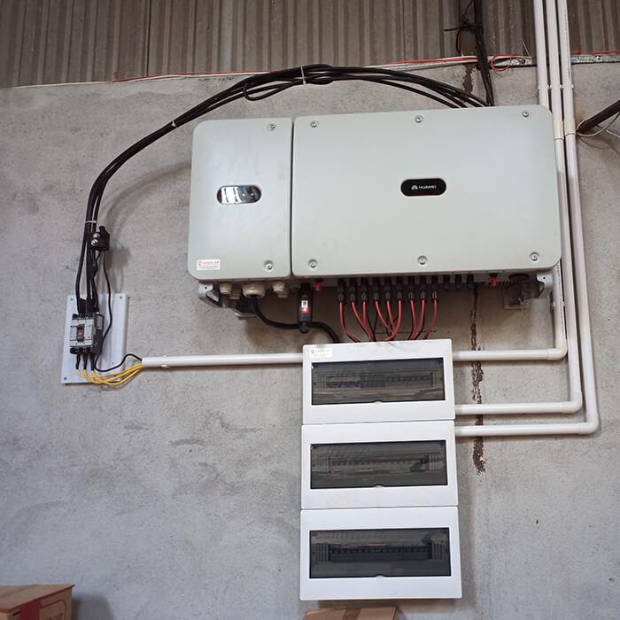 Hoàn thành lắp đặt điện năng lượng mặt trời 60kWp tại Đắk Nông 15