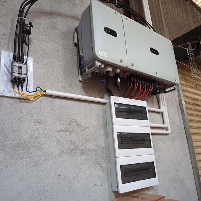 Hoàn thành lắp đặt điện năng lượng mặt trời 60kWp tại Đắk Nông 16