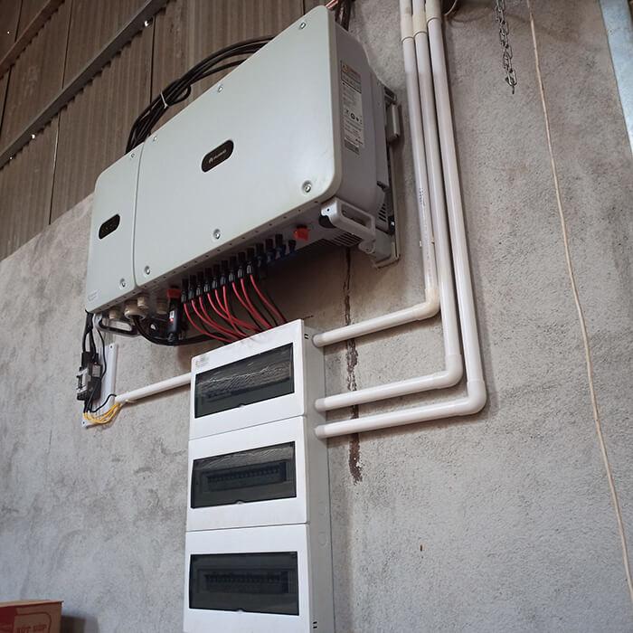 Hoàn thành lắp đặt điện năng lượng mặt trời 60kWp tại Đắk Nông 17