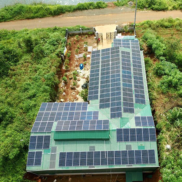 Hoàn thành lắp đặt điện năng lượng mặt trời 60kWp tại Đắk Nông 9