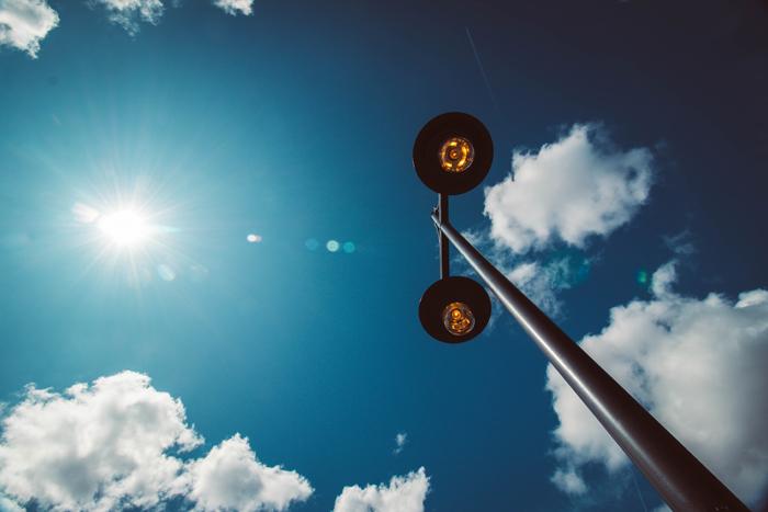 Những hình ảnh đẹp về đèn chiếu sáng ngoài trời 16