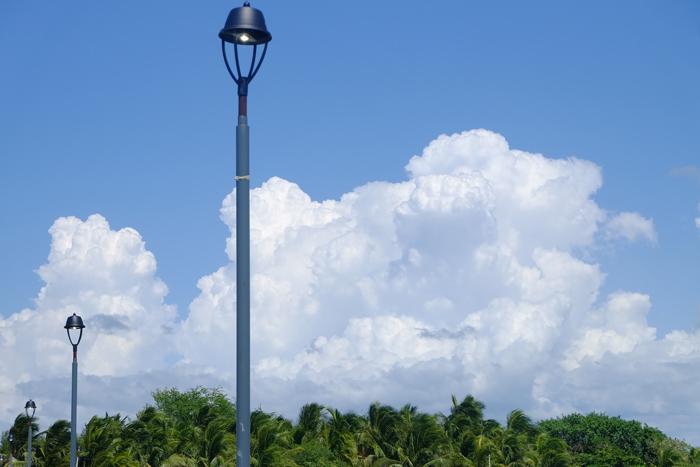 Những hình ảnh đẹp về đèn chiếu sáng ngoài trời 8
