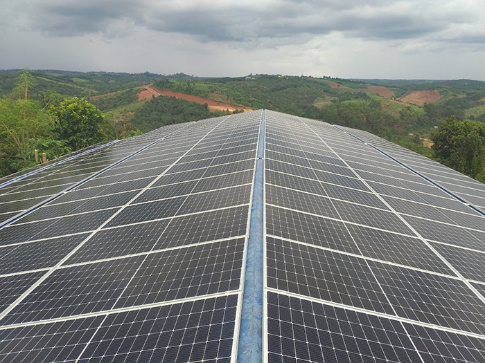 Hoàn thành hệ thống năng lượng mặt trời hòa lưới áp mái 90kWp tại Đắk Nông 1