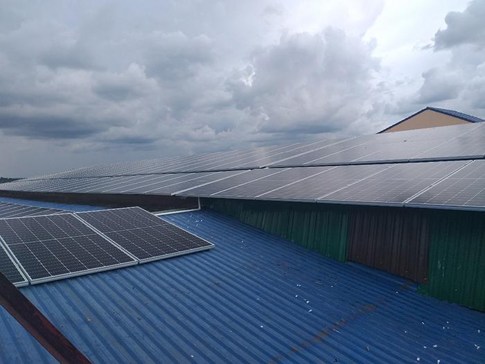 Hoàn thành hệ thống năng lượng mặt trời hòa lưới áp mái 90kWp tại Đắk Nông 2