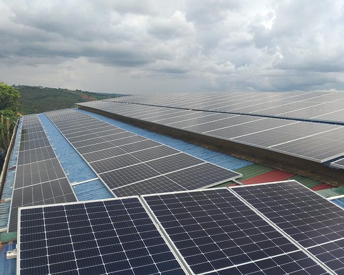 Hoàn thành hệ thống năng lượng mặt trời hòa lưới áp mái 90kWp tại Đắk Nông 3