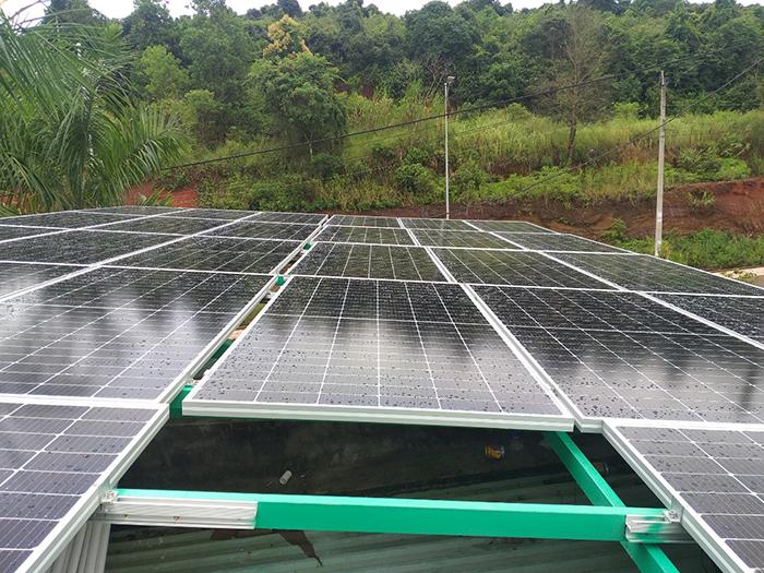 Hoàn thành hệ thống điện năng lượng mặt trời hòa lưới 40kWp tại Đắk Nông 1