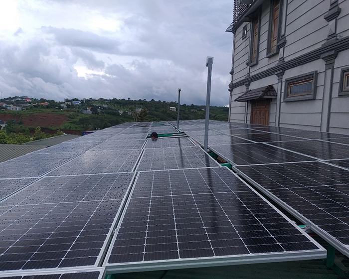 Hoàn thành hệ thống điện năng lượng mặt trời hòa lưới 40kWp tại Đắk Nông 2