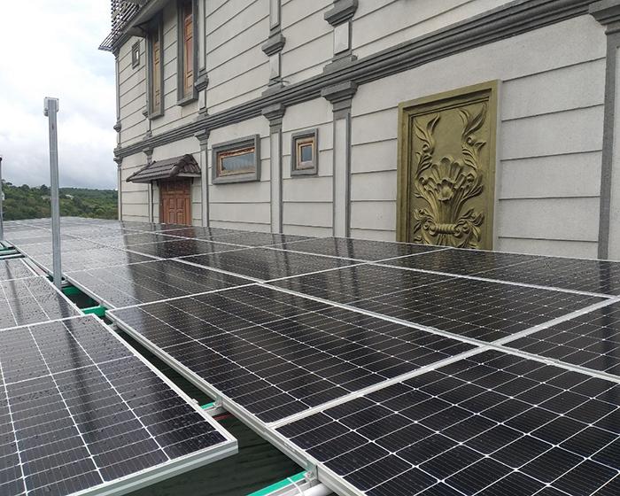 Hoàn thành hệ thống điện năng lượng mặt trời hòa lưới 40kWp tại Đắk Nông 3