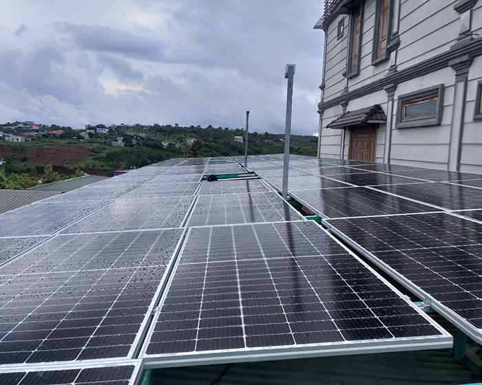 Hoàn thành hệ thống điện năng lượng mặt trời hòa lưới 40kWp tại Đắk Nông 4