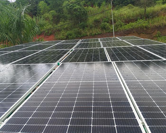 Hoàn thành hệ thống điện năng lượng mặt trời hòa lưới 40kWp tại Đắk Nông 5