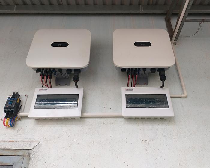 Hoàn thành hệ thống điện năng lượng mặt trời hòa lưới 40kWp tại Đắk Nông 8