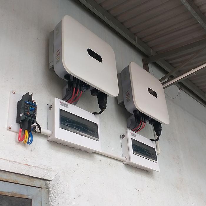 Hoàn thành hệ thống điện năng lượng mặt trời hòa lưới 40kWp tại Đắk Nông 9