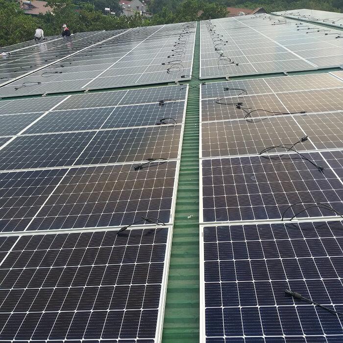 Điện mặt trời Givasolar.com.vn: Hoàn thành hệ thống áp mái 130kWp Đắk Nông 1