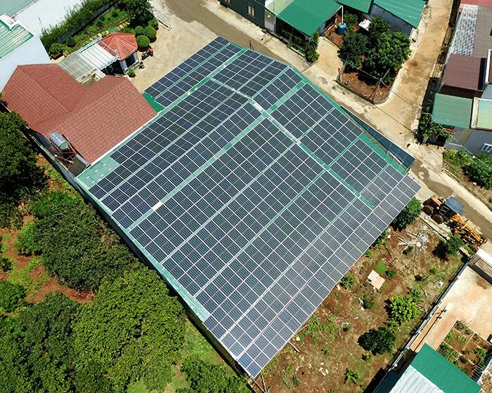 Điện mặt trời Givasolar.com.vn: Hoàn thành hệ thống áp mái 130kWp Đắk Nông 10