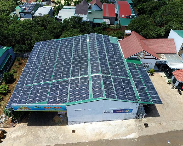 Điện mặt trời Givasolar.com.vn: Hoàn thành hệ thống áp mái 130kWp Đắk Nông 13