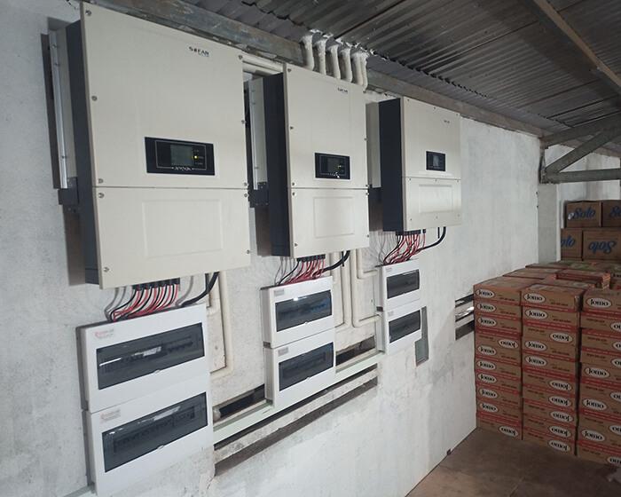 Điện mặt trời Givasolar.com.vn: Hoàn thành hệ thống áp mái 130kWp Đắk Nông 15