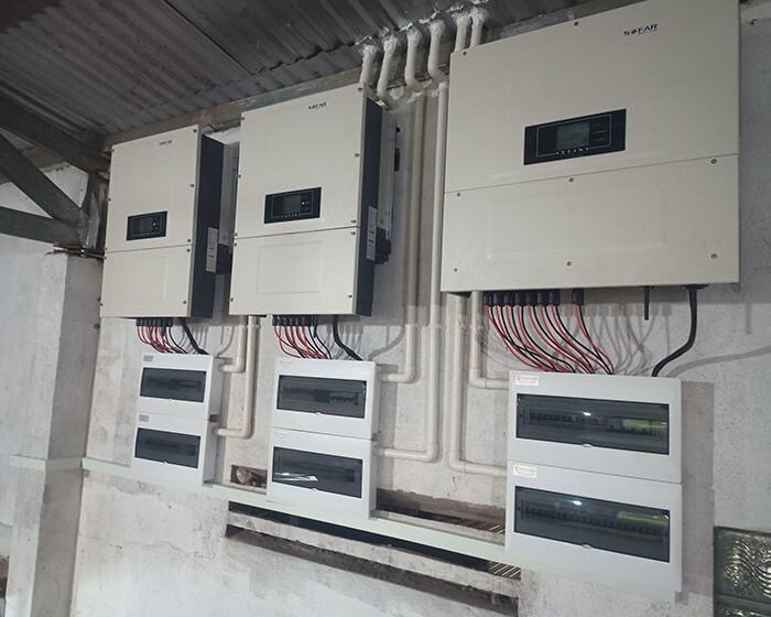 Điện mặt trời Givasolar.com.vn: Hoàn thành hệ thống áp mái 130kWp Đắk Nông 16