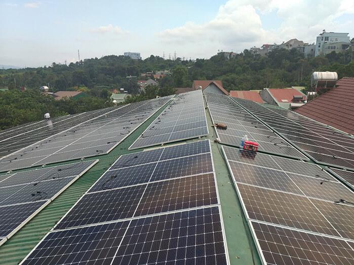 Điện mặt trời Givasolar.com.vn: Hoàn thành hệ thống áp mái 130kWp Đắk Nông 2
