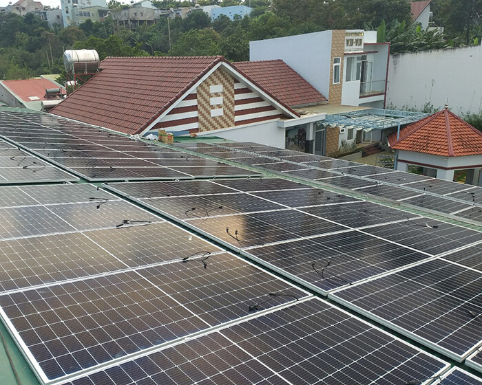 Điện mặt trời Givasolar.com.vn: Hoàn thành hệ thống áp mái 130kWp Đắk Nông 3