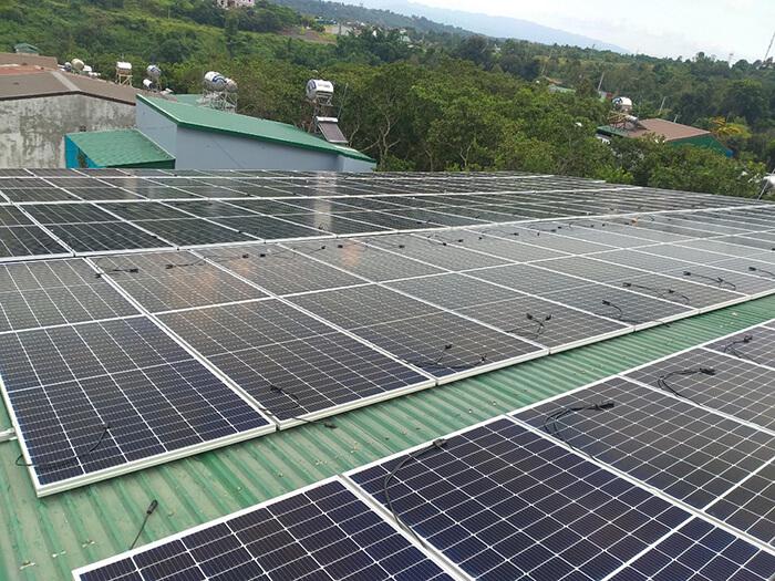 Điện mặt trời Givasolar.com.vn: Hoàn thành hệ thống áp mái 130kWp Đắk Nông 4