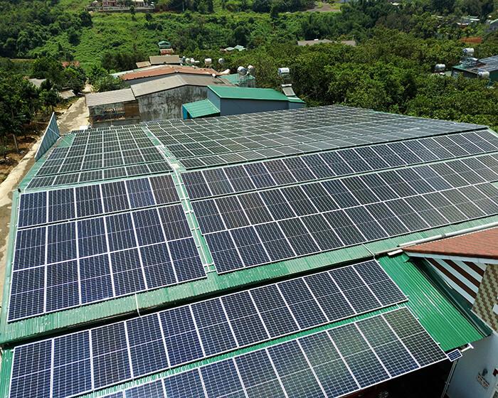 Điện mặt trời Givasolar.com.vn: Hoàn thành hệ thống áp mái 130kWp Đắk Nông 5
