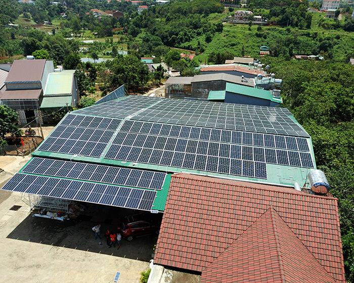 Điện mặt trời Givasolar.com.vn: Hoàn thành hệ thống áp mái 130kWp Đắk Nông 7