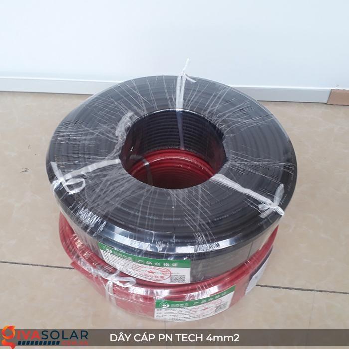 Phụ kiện lắp đặt pin mặt trời: Dây cáp điện DC PN Tech 4 mm2 14