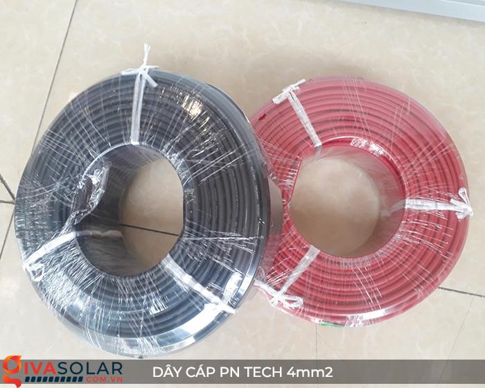Phụ kiện lắp đặt pin mặt trời: Dây cáp điện DC PN Tech 4 mm2 9