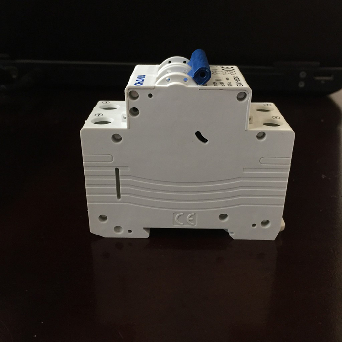 Aptomat DC năng lượng mặt trời CHANA 6KA-2P-25A-500VDC 3
