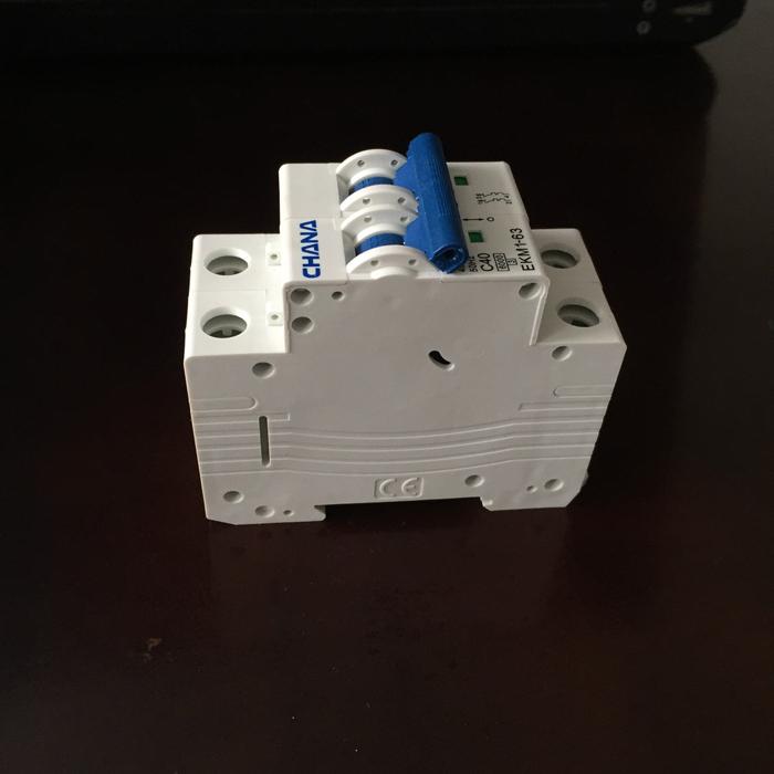 CB AC dùng cho hệ thống năng lượng mặt trời CHANA 6KS-2P-40A 2