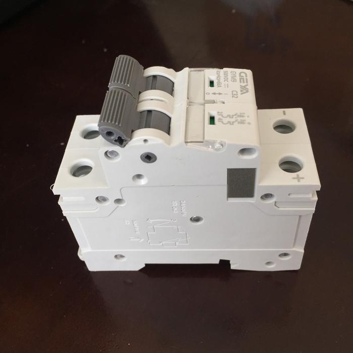 CB DC GYM9-2P GEYA 20/25/32A cho hệ thống năng lượng mặt trời 2
