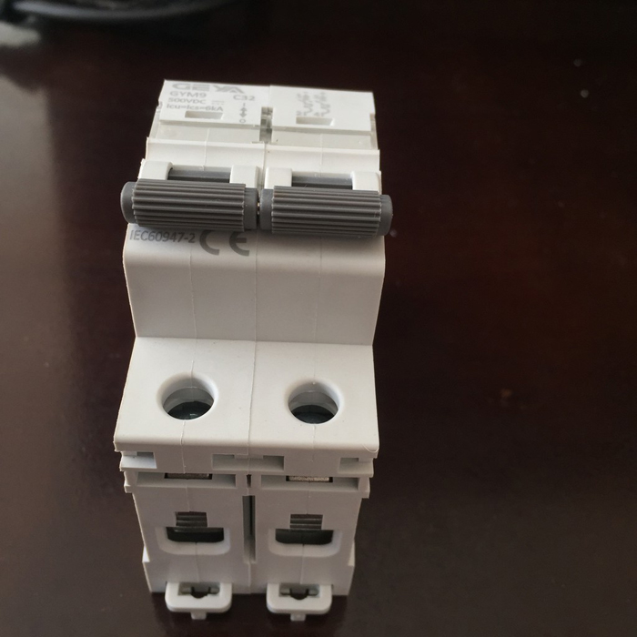 CB DC GYM9-2P GEYA 20/25/32A cho hệ thống năng lượng mặt trời 3