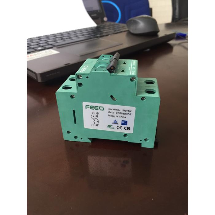CB DC năng lượng mặt trời FEEO 20A/25A/32A 2P 550V 3