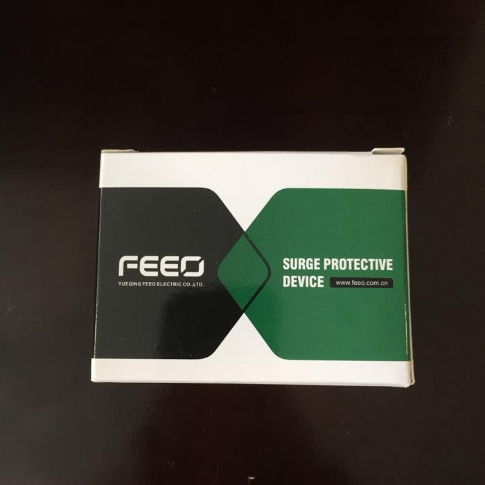 Chống sét AC 2P 20-40KA 275VAC SPD FEEO dùng cho hệ thống điện mặt trời 8