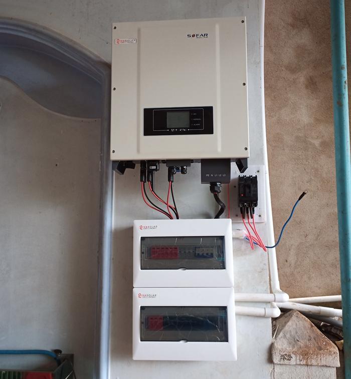 Hoàn thành lắp điện mặt trời áp mái 20 kWp cho anh Lĩnh tại tỉnh Đắk Nông 13