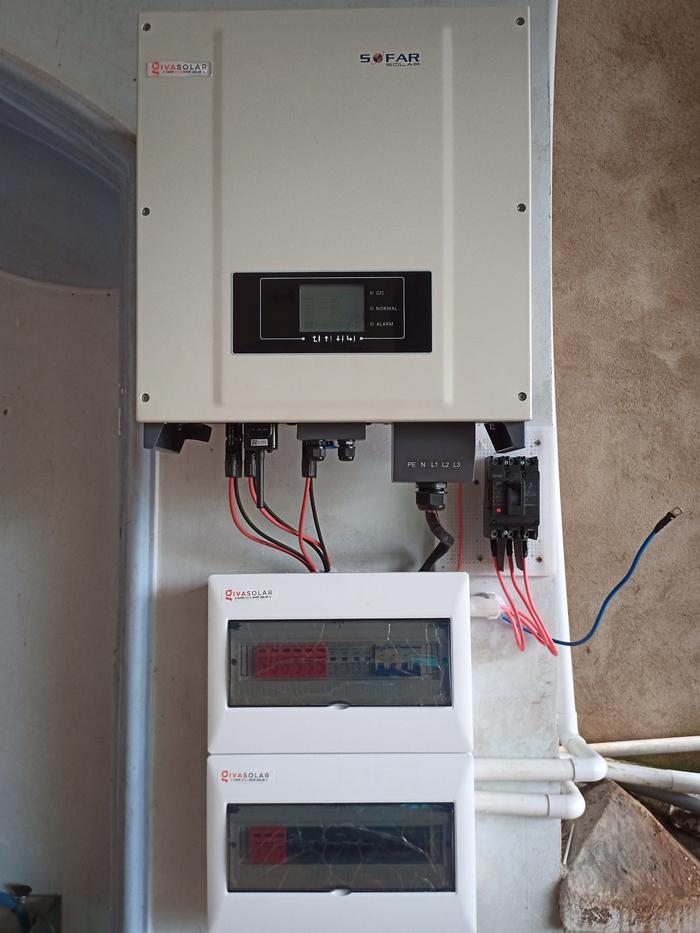 Hoàn thành lắp điện mặt trời áp mái 20 kWp cho anh Lĩnh tại tỉnh Đắk Nông 14