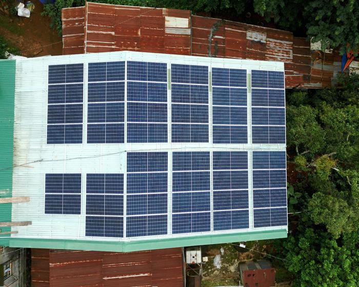 Hoàn thành lắp điện mặt trời áp mái 20 kWp cho anh Lĩnh tại tỉnh Đắk Nông 3
