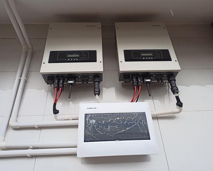 Lắp đặt hoàn tất hệ thống năng lượng mặt trời hòa lưới 11kWp tại BR-VT 13