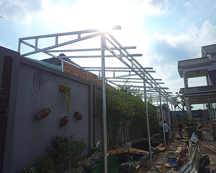 Lắp đặt hoàn tất hệ thống năng lượng mặt trời hòa lưới 11kWp tại BR-VT 2